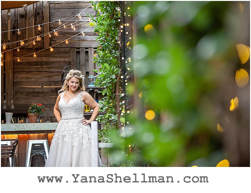 Beautiful bride at Talula's Garden wedding by Philadelphia wedding photographer