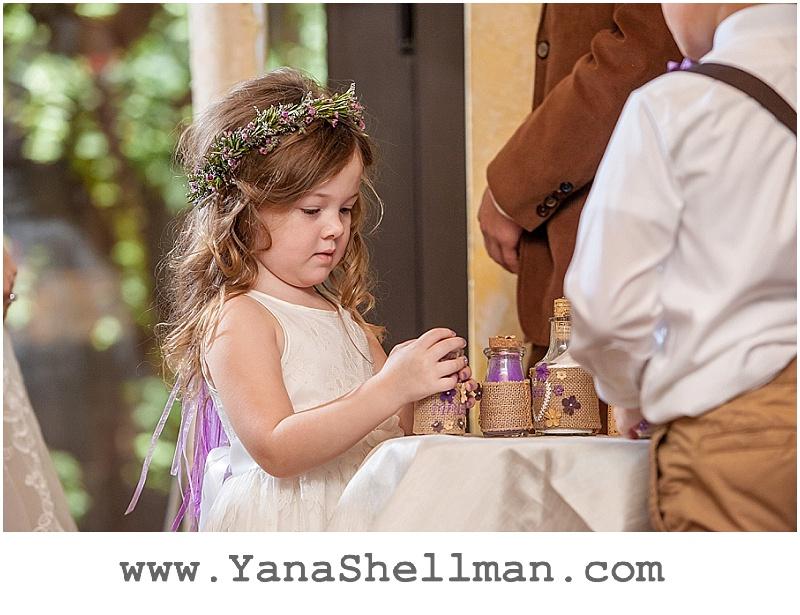 sand ceremony at Talula's Garden wedding by Philadelphia wedding photographer