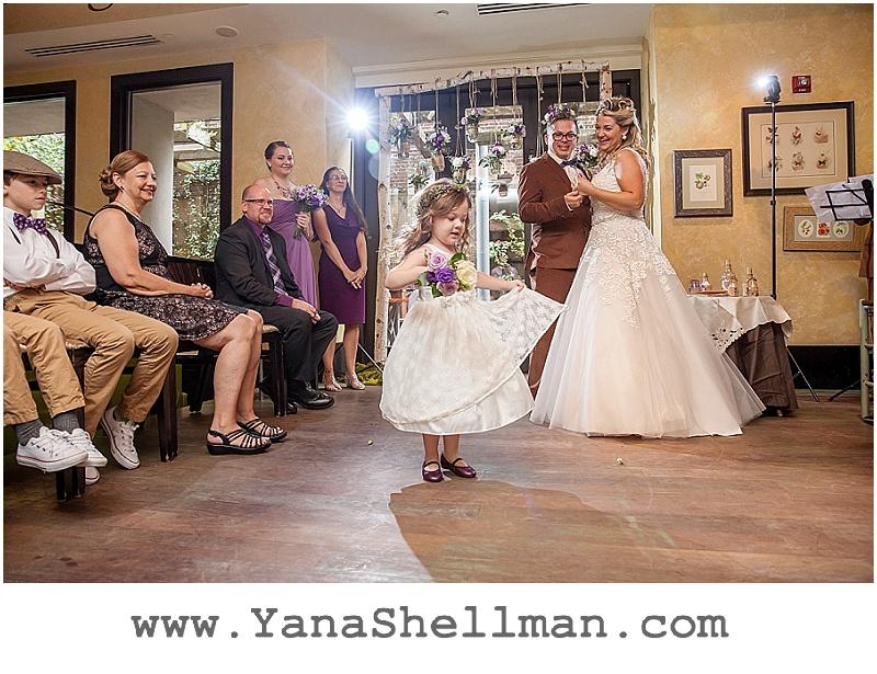 first dance at Talula's Garden wedding by Philadelphia wedding photographer