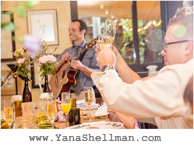 wedding speeches at Talula's Garden wedding by Philadelphia wedding photographer